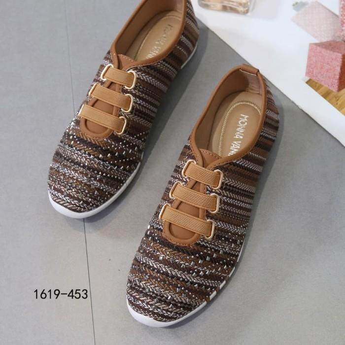 harga Sepatu flat wanita import monna vania 1619-453 (3622)# Tokopedia.com