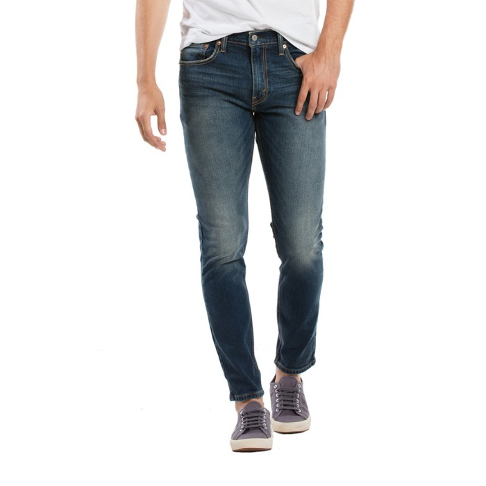Levi's 512t slim taper fit ama canyon dark 28833-0150 size-32