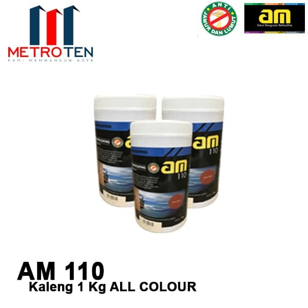 Image AM 110 Waterproofing 1 Kg Kaleng ALL COLOUR