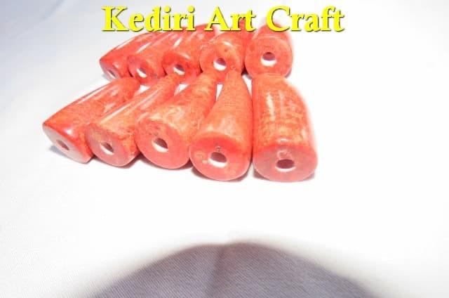 Pipa Rokok RED CORAL Batu Marjan Model Minimalis Paket 10 BUAH