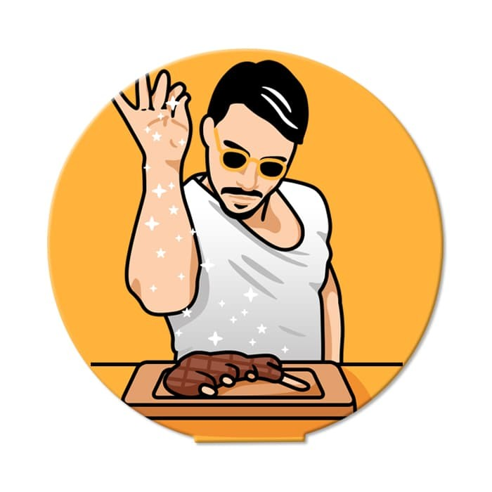 harga Salt bae - ohstick antigravity sticker Tokopedia.com