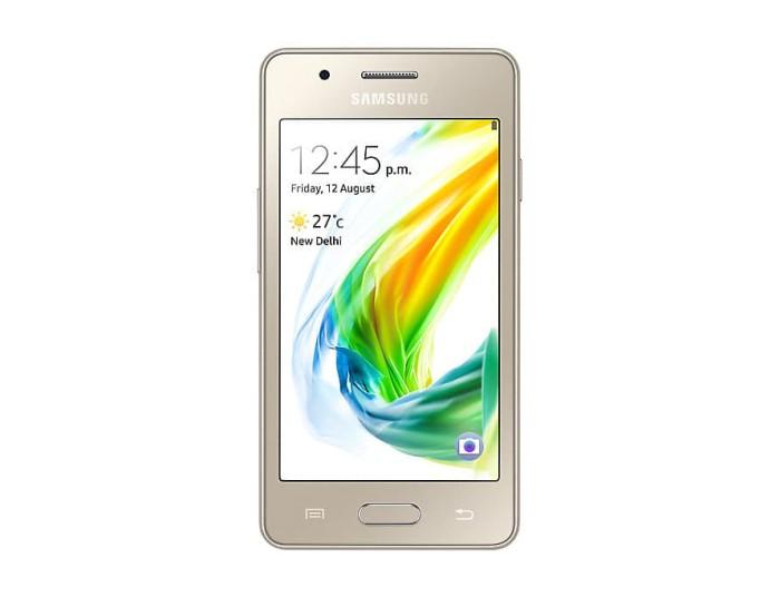Samsung Z2 warna gold