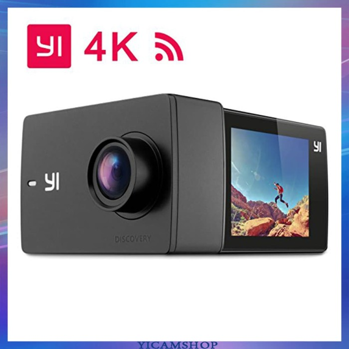 Xiaomi Yi Action Camera - 16 MP - International Version - HITAM