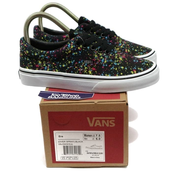 a1cb8d9aae419a Jual BGR 020 Vans Era Over Spray Black Premium BNIB Free tas sepatu ...