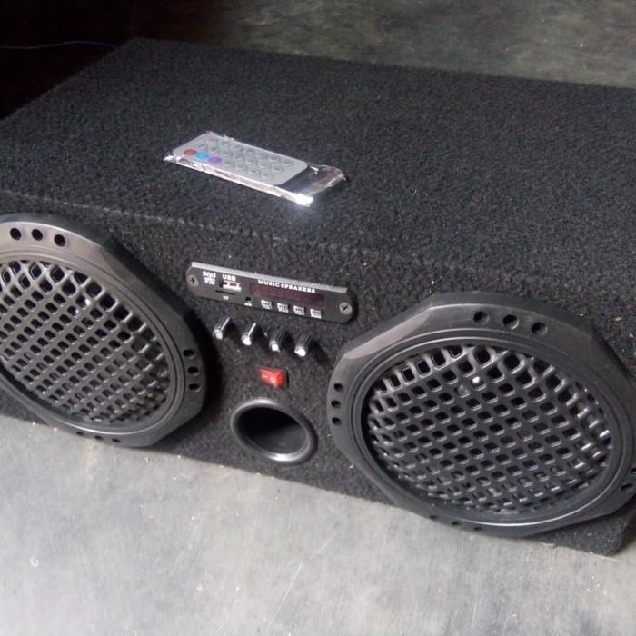 Jual Speaker Aktif Mobil Bluetooth Usb Mmc Aux Fm Radio Kab Tulungagung Ygk Tokopedia