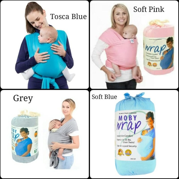 Jual Moby Baby Wrap Gendongan Bayi Rain Baby Shop Tokopedia