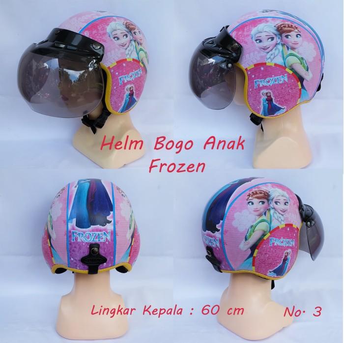 Helm Bogo Anak 4 -7 Tahun (karakter Cewe)