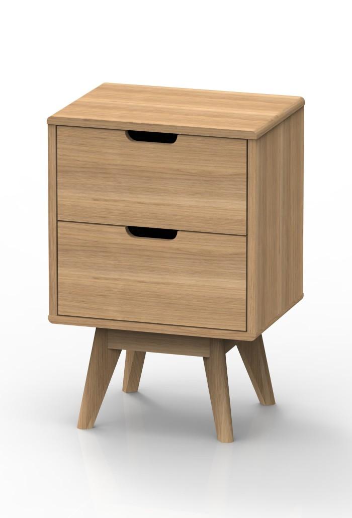 Side Table Jysk.Jual Jysk Bed Side Table Marius 40x30x59cm Oak Meja Sudut Laci