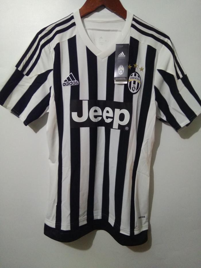 7d964098c Adidas juventus Jersey original 15 16 AA0336 baju bola asli Bnwt murah
