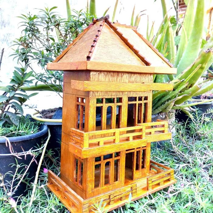 Jual Miniatur Rumah Bertingkat Limited Edition Kab Cirebon Gazelle Creative Shop Tokopedia