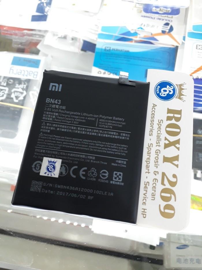 Batre Baterai Hp Xiaomi REDMI NOTE 4X BN43 ORI 100 - Batt Battery Batt