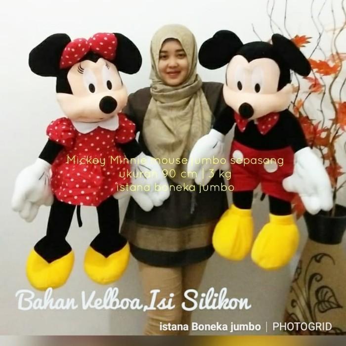 Jual Boneka Mickey minnie mouse jumbo sepasang bagus murah ukuran 90 ... c4a11c46e5