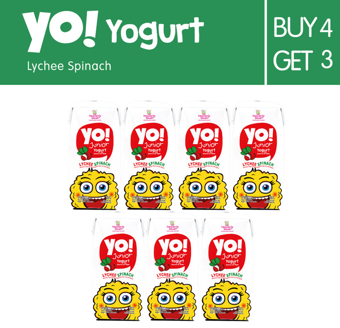 harga [buy4get3] heavenly blush yo lychee spincah [7px200ml] Tokopedia.com