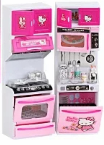 Kitchen set Mainan dapur Anak Perempuan Hello Kitty