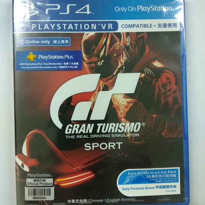 harga Bd game ps4 gran turismo sport reg 3 Tokopedia.com