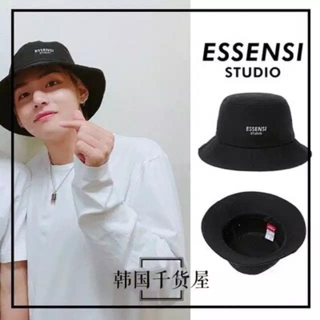 65bd7a8f390 Jual Aksesoris Fashion Topi Bucket Hat - Essensi Studio BTS V Style ...