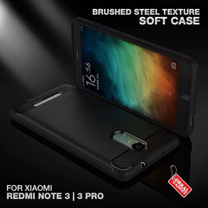 EXECUTIVE CARBON Casing Xiaomi Redmi Note 3 Pro Case - Hitam