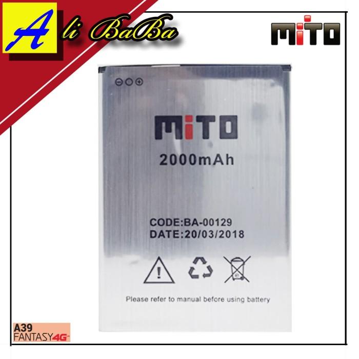 harga Baterai handphone mito a39 ba-00129 batre hp mito a39 battery mito a39 Tokopedia.com