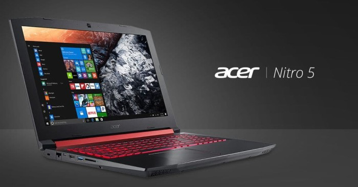 harga Acer predator nitro 5 - an515-52 - i5-8300h gtx1050 8gb 1tb w10 Tokopedia.com