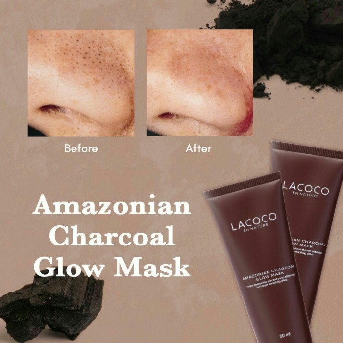 "Image result for LACOCO ""AMAZONIAN CHARCOAL GLOW MASK""\ nasa"