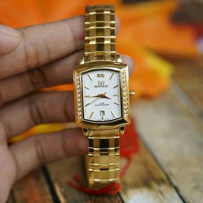 Jual Jam tangan mirage original For Ladies GD1554 - Gold Berkualitas ... 3348a9594c