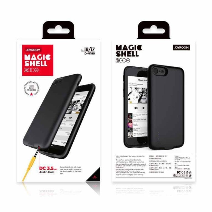 info for 37b61 28820 Jual POWER CASE JOYROOM MAGIC SHELL IPHONE 7 BATTERY CASE POWERCASE 2800MAH  - Jakarta Pusat - Markas acc 88 | Tokopedia
