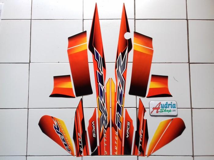 harga Striping stiker motor yamaha f1zr 2003 hitam-orange Tokopedia.com