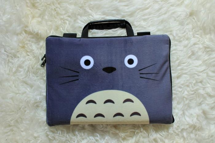 Foto Produk Totoro Velboa Sablon 13 -14 Inch Softcase Tas Laptop Notebook dari FaryuzFamouz-Softcase
