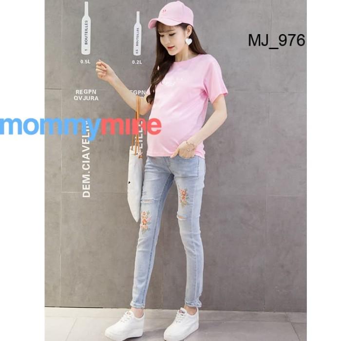 harga Mommymine celana jeans hamil import (mj_976) Tokopedia.com