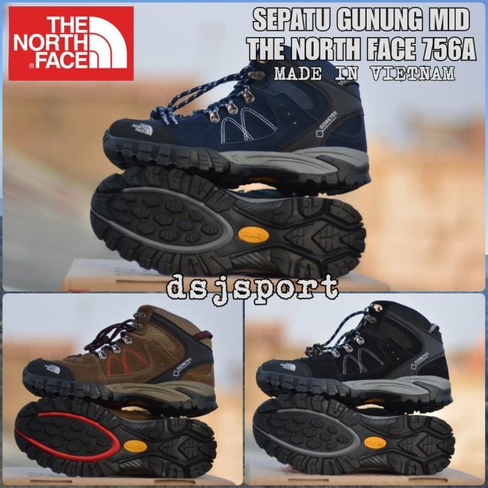 harga Sepatu gunung tnf the north face import vietnam mid premium murah Tokopedia.com