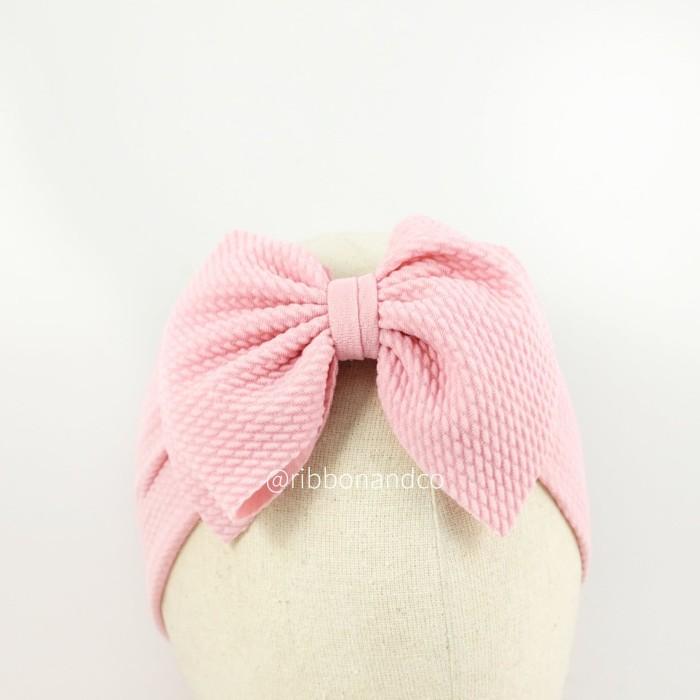 Ashley bow medium pink /pita anak / pita bayi/ribbonandco