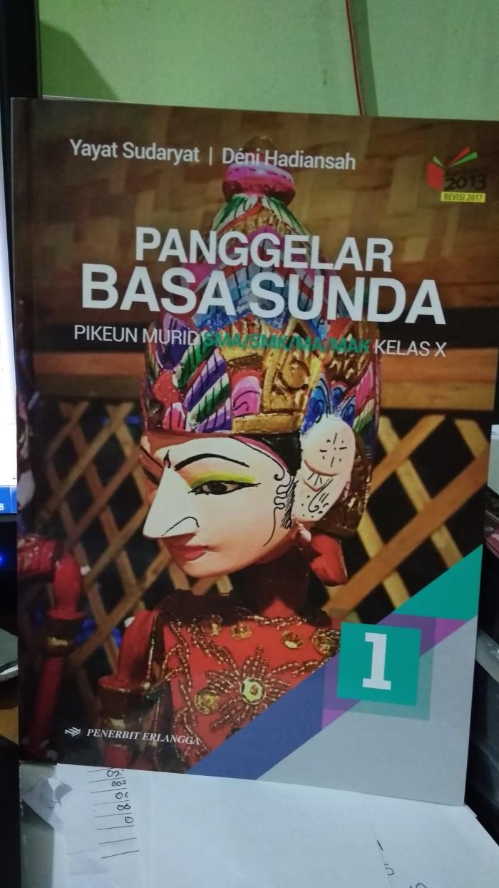 Jual BEST SELLER PANGGELAR BASA SUNDA 1 SMA MA KELAS X K13N ERLANGGA Jakarta Pusat Toko Buku Mata Air