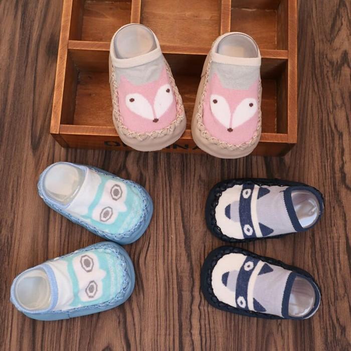 Cutie! Prewalker Baby Shoes Socks Import - Sepatu Kaos Kaki Bayi - Saneoo Cutie - Blanja.com