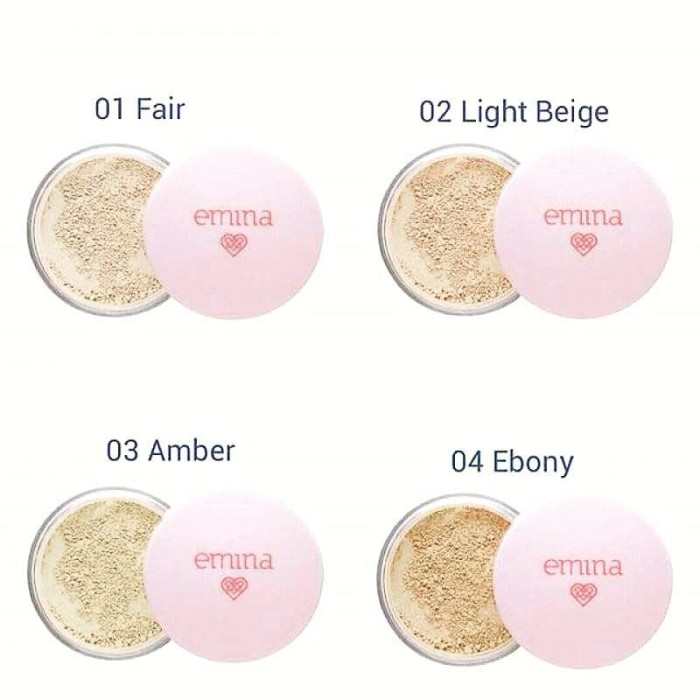 Emina Bare With Me Mineral LOOSE Powder [01 FAIR]