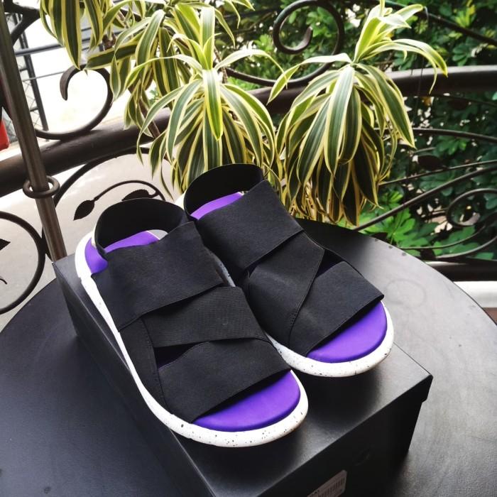 1db55749b Jual Sandal Y3 Qasa Yohji Yamamoto Black White Oreo Original - Kota ...
