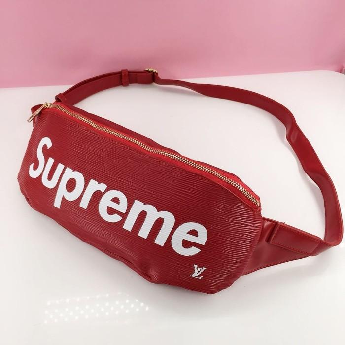 df1ae8c5879b Jual Tas pinggang Import Waist L V Supreme Belt Bag sstk ...