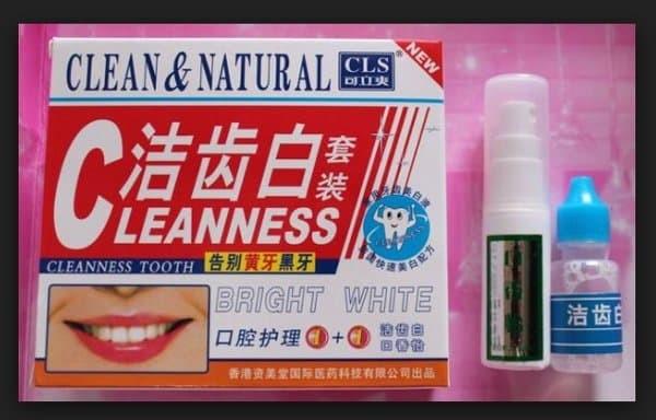Jual Ready Clean And Natural Pemutih Pembersih Gigi Penghancur Flek