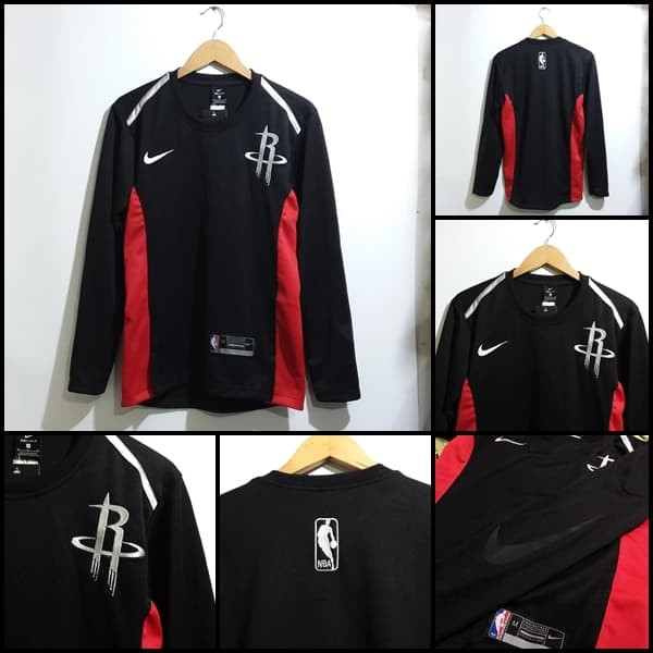 more photos 4001c 06f39 Jual Sweater Houston Rockets Black Shooting Shirt - Kota Bandung - M16  Sport New   Tokopedia