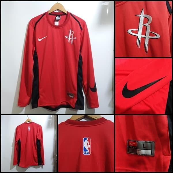 huge discount e2e41 9b09c Jual Sweater Houston Rockets Shooting Shirt - Kota Bandung - M16 Sport New  | Tokopedia
