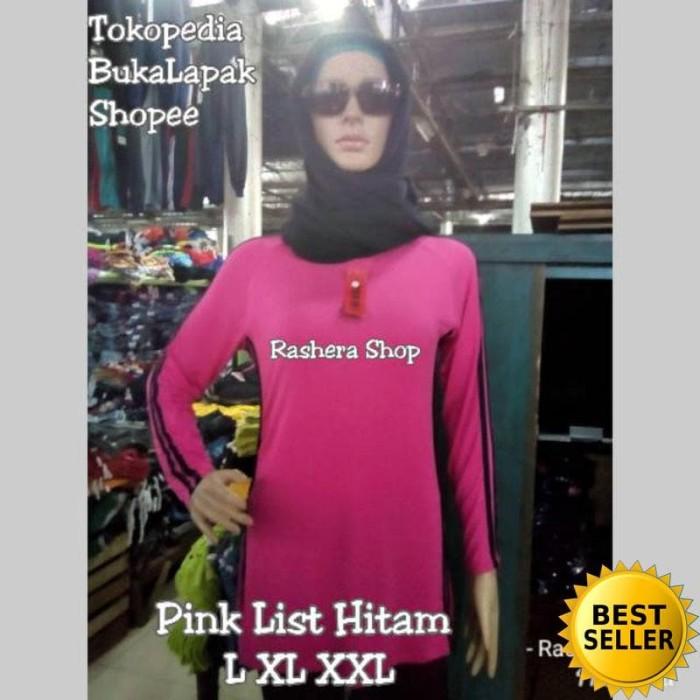 Baju Senam Muslimah / Baju Senam Lengan Panjang / Baju Senam Zumba