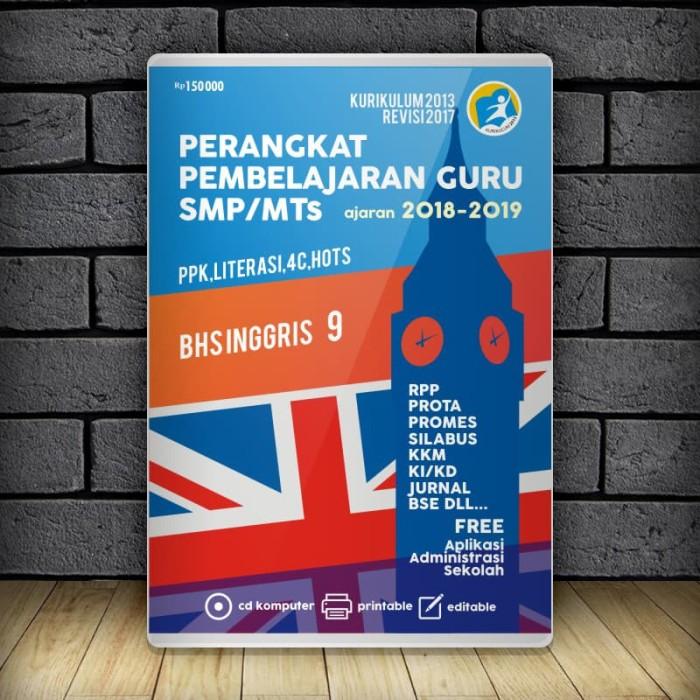 picture relating to Pt 61 Printable Form named Jual RPP BAHASA INGGRIS SMP Kelas 9 KURIKULUM 2013 REVISI 2017 - Kab. Banyumas - Sintesa Innovative Tokopedia