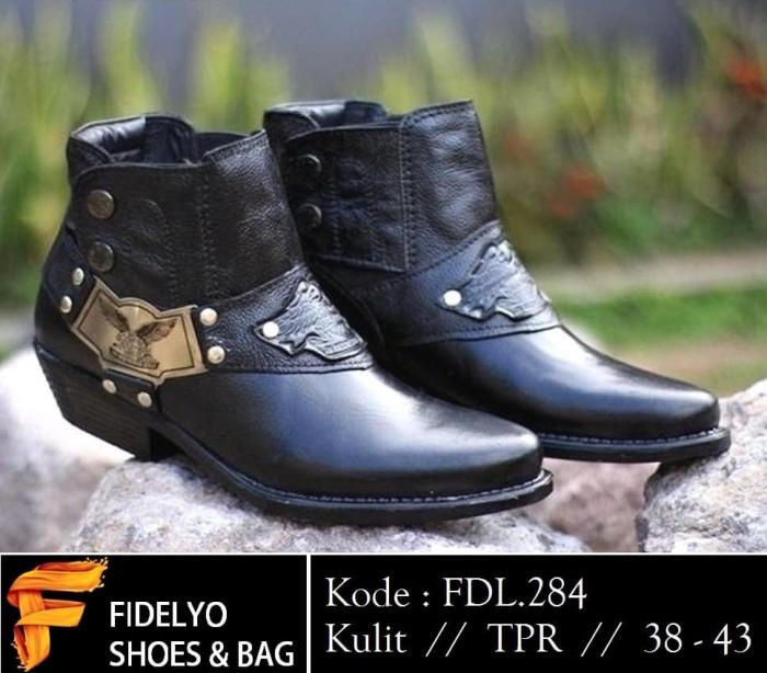Jual Sepatu Bikers kulit murah 284 - Fidelyo shoe  552e27c7d5