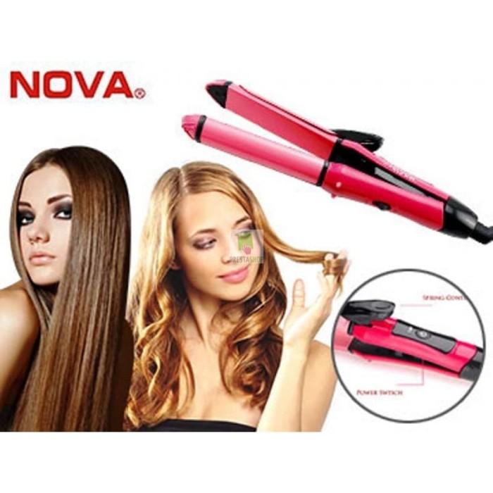 Catok mini nova lurus Curly keriting Blow rambut Laris Murah promo Ori 534379aa15