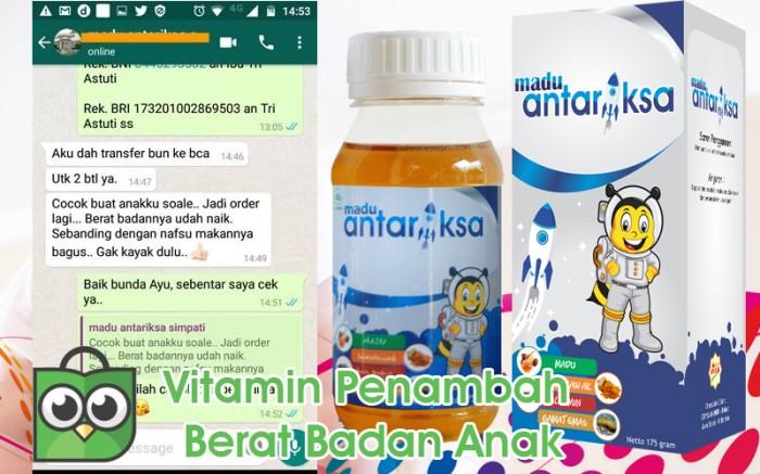 Jual Vitamin Penambah Berat Badan Bayi 3 Bulan Jakarta Selatan