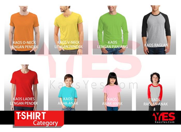 Abu Source · Kaos pria murah KaosYES Kaos Polos T Shirt O NECK .
