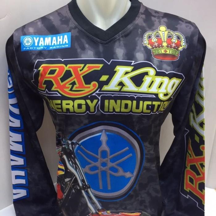 harga Kaos jersey motor yamaha rx king-baju motor yamaha rx king energy Tokopedia.com