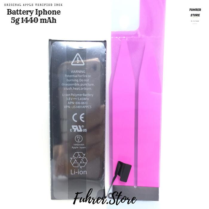 Foto Produk Baterai / Battery / Batre Iphone 5G 5s Original Garansi dari Fuhrer Shop