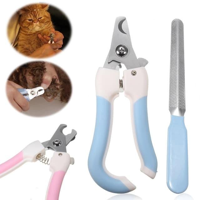 Foto Produk Gunting Kuku Anjing & Kucing (Type B) + Pengikir dari Puppy Pet