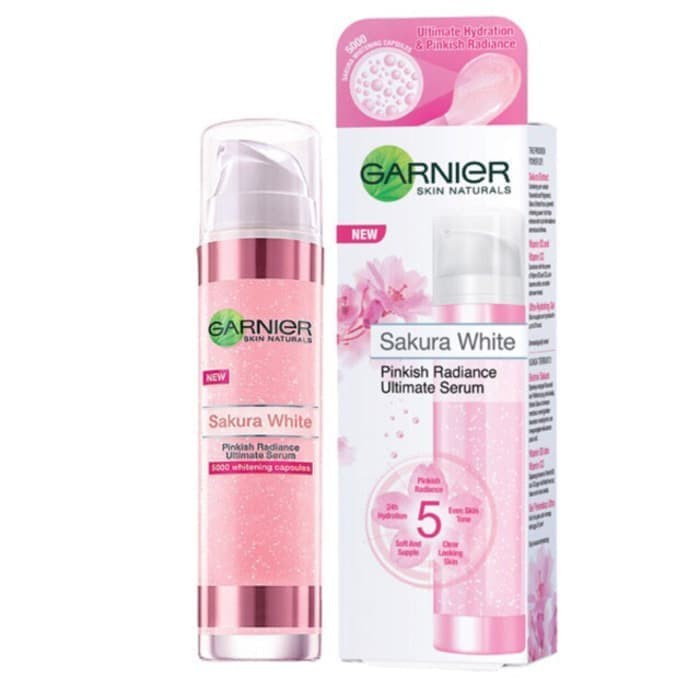 Garnier Sakura White Pinkish Radiance Ultimate Serum - 50ml