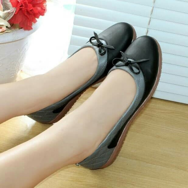 Flat Shoes Bld08 Hitam